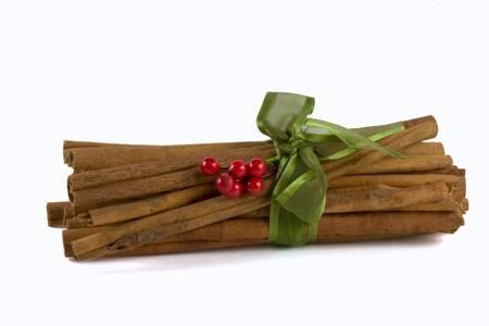 Cinnamon sticks alpha Banco de Imagens