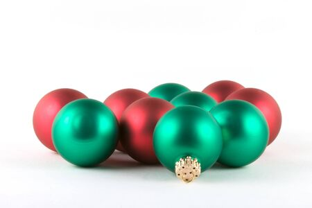 red and green balls alpha