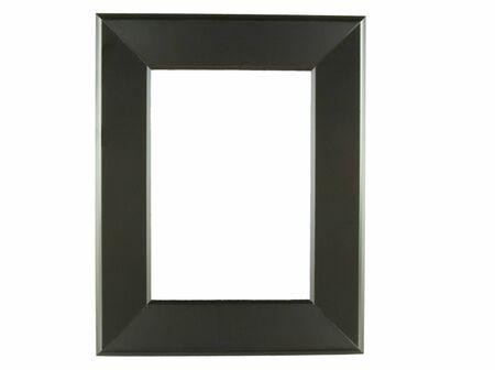 Black picture frame alpha Stok Fotoğraf