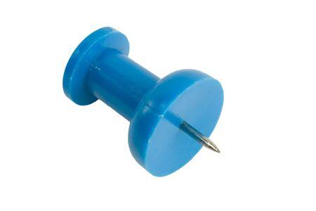 Blue thumbtack alpha Stok Fotoğraf