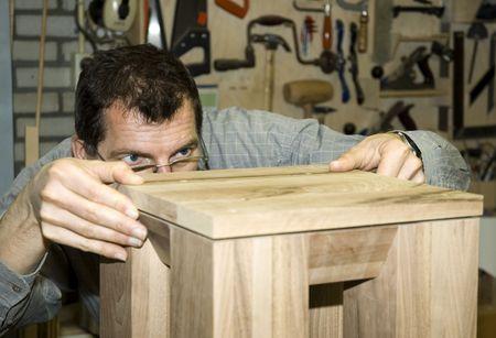 The fine art of furniture making