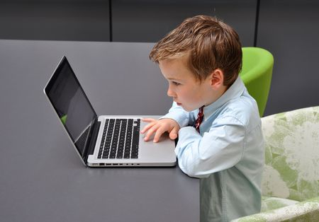 Young men preparing for his first job application Stock Photo - 4739653