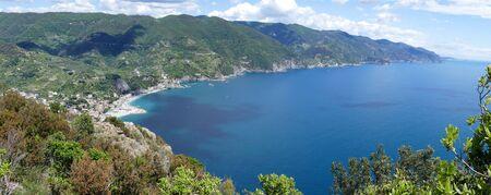 Coast of Liguria, Cinque Terre Italy Stock Photo