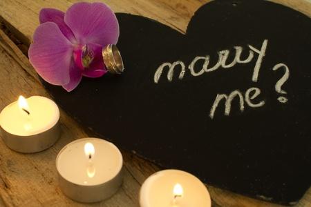 結婚してくれませんか 写真素材