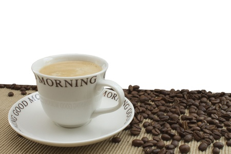 good morning coffee Stock Photo - 13156113