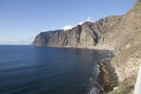 cliffs at the sea photo