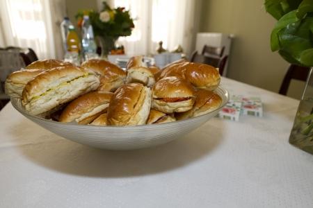 sandwich lunch horizontal Stock Photo
