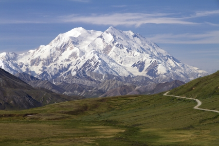 mt: mount McKinley Stock Photo