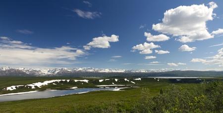 alaska scenic: scenic view alaska Stock Photo