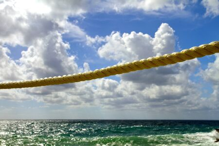 rope against sky