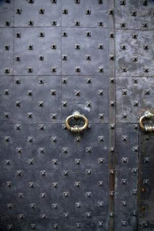 closed door Stock Photo