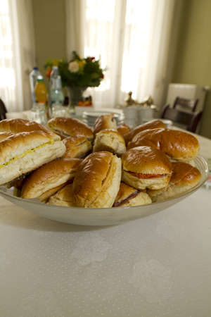 Sandwich lunch Stock Photo
