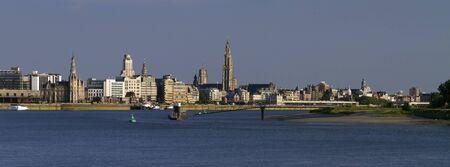 Antwerp skyline Stock Photo