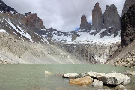 Torres del Paine Reklamní fotografie