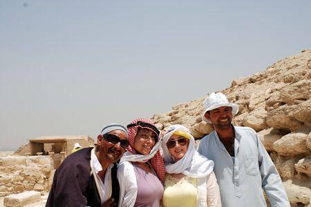 locals: tourist with locals