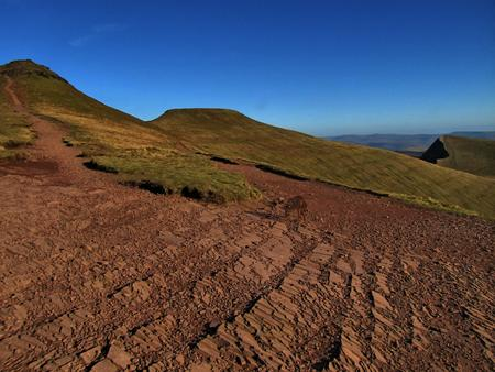 beacons: Penyfan and Cribyn, Brecon Beacons