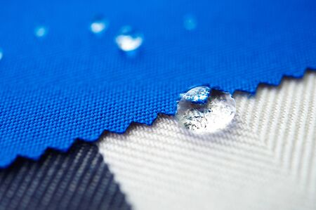 repellant: Canvas Fabric several different of water repellant and waterproof fabrics. How to waterproof fabric with these simple instructions for Experiment by drop water on it