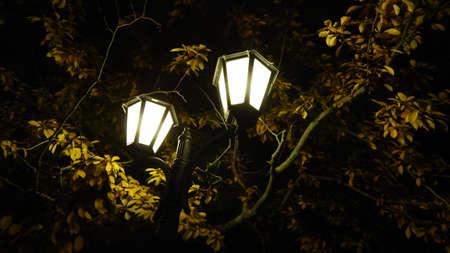 riga: Lamps in the park in Riga, Latvia