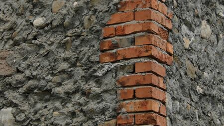 brickwalls: Brickwall corner Stock Photo