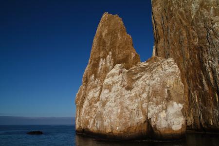 archipelago: Sleeping Lion Rock near San Cristobal, Galapagos Archipelago