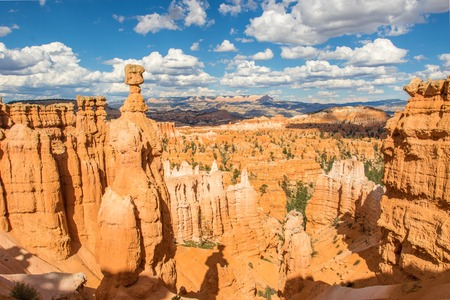 Thors Hammer and other hoodoos in Bryce Canyon