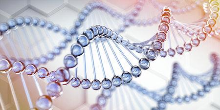 DNA - medical 3D illustration