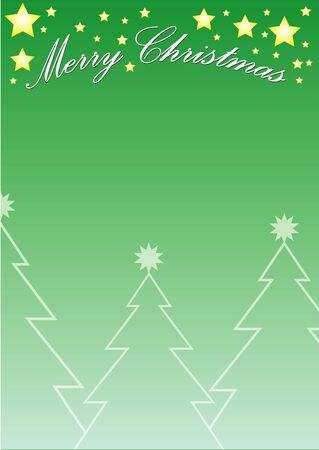 green gradient christmas background photo