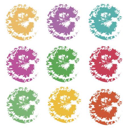 splotches: colored splotches