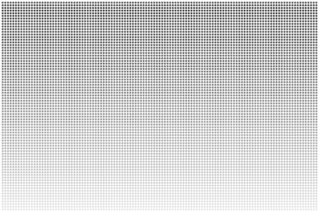 screen print: punti di griglia grigio sfumato Vettoriali
