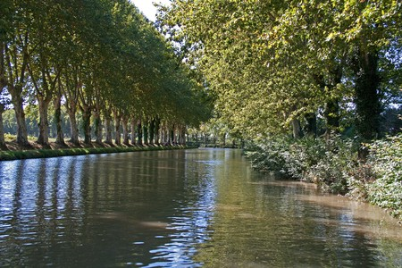 Canal du Midi, Languedoc, France