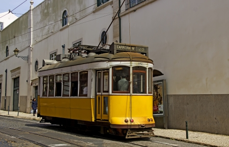 electrico: lisbon, yellow tram