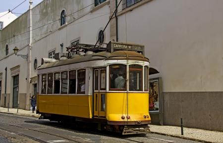 electrico: lisbon, yellow tram