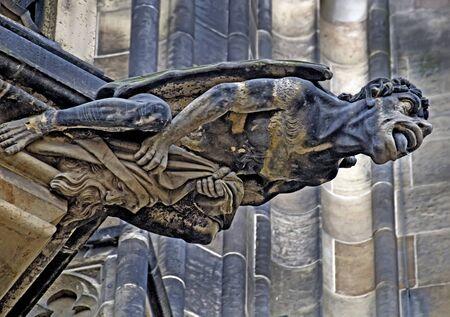 gargouille: Gargouille sur la cath�drale Vitus � Prague