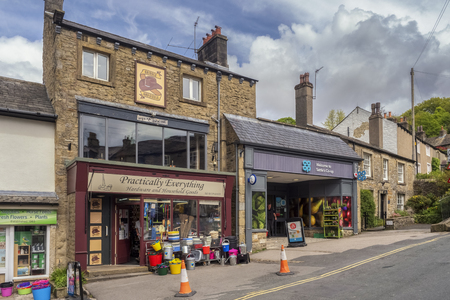 The co-op shop in the centre of Settle in the Yorkshire Dales