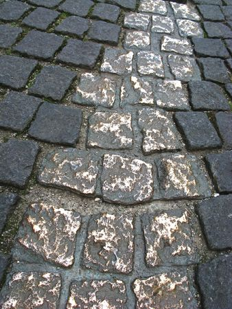 The Famous Golden Path in the center of Munich, Germany. photo
