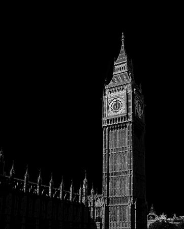 oclock: 12 oclock on Big Ben, London.