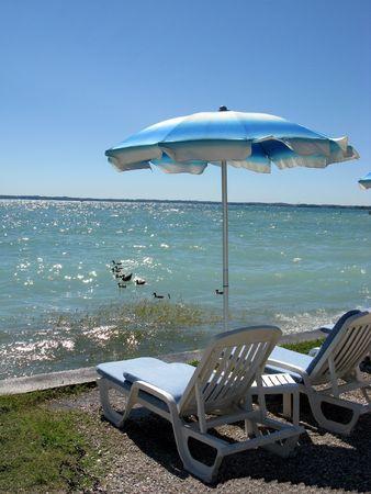 Lake Garda. The world-famous European resort of Sirmione. Italy.