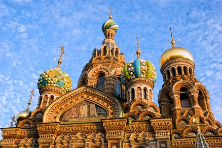 Church of Savior on Spilled Blood. St. Petersburg, Russia