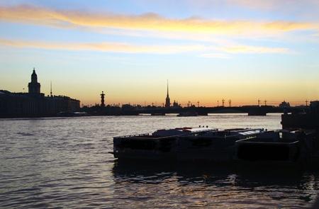 The Neva River of Saint Petersburg
