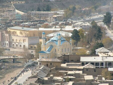 afghanistan: Centre of Kabul