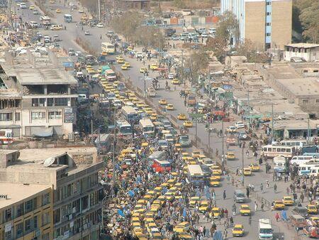 afghanistan: Heavy traffic Kabul Editorial