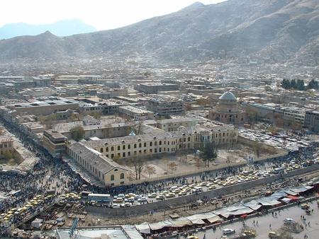 afghanistan: Titanic Market Kabul Editorial