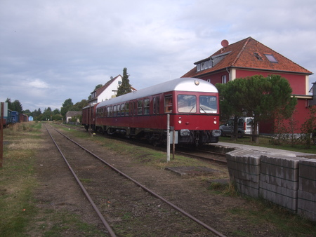 Railcar at the main platform Redactioneel