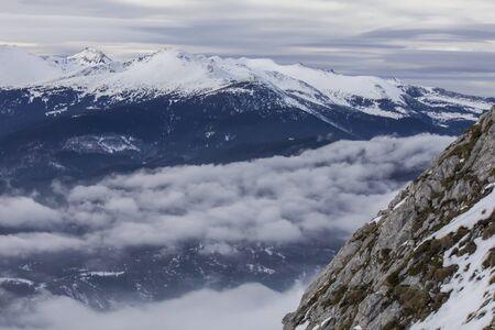 windy: Windy Mountain Stock Photo