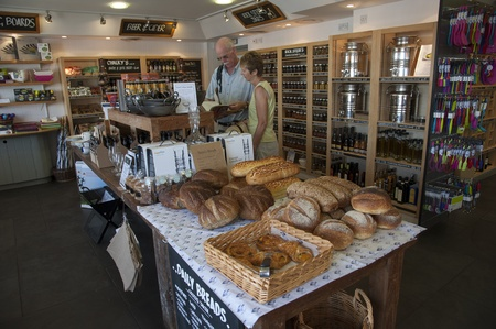 rick: Rick Stein s famous deli in Padstow England Editorial