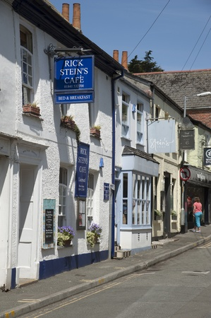 rick: Rick Stein s famous cafe in Padstow Cornwall Editorial