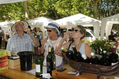 Wine tasting at Saint Chinian Wine Festival France