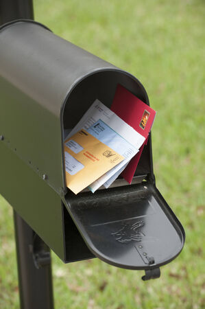 US mail box containing letters Editorial