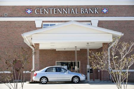Drive through bank USA