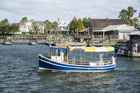 Sumter Landing in the Villages Florida USA The waterbus ferry